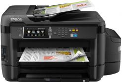 Epson tiskárna ink EcoTank L1455, 4v1, A3+, 30ppm, Ethernet, Wi-Fi (Direct), Duplex,  LCD, ADF, 3 roky záruka po reg.