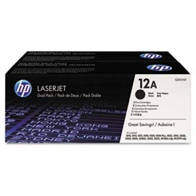 HP 12A Q2612AD dvojbalení černý (black) originální toner, výprodej
