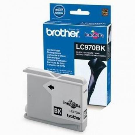 Brother LC-970BK fekete (black) eredeti tintapatron