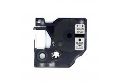 Kompatibilní páska s Dymo 45010, S0720500, 12mm x 7m černý tisk / průhledný podklad