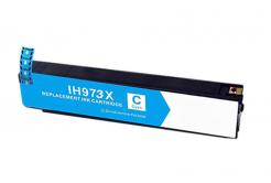 HP 973X F6T81AE azurová (cyan) kompatibilní cartridge