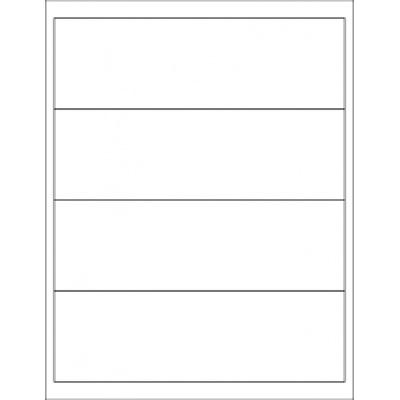 Samolepicí etikety R0100.5473.A, 190 x 58 mm, 5 etiket, A4, 100 listů