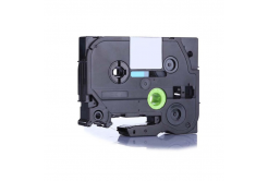 Kompatibilní páska s Brother TZ-FX415 / TZe-FX415, 6mm x 8m, flexi, bílý tisk / červený podklad