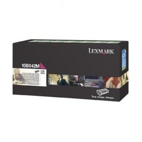 Lexmark 10B042M bíborvörös (magenta) eredeti toner