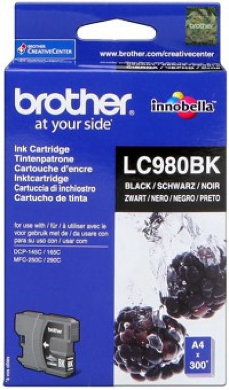 Brother LC-980BK negru (black) cartus original