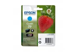 Epson T29824022, T29 azurová (cyan) originální cartridge