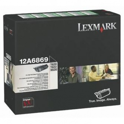Lexmark 12A6869 černý (black) originální toner