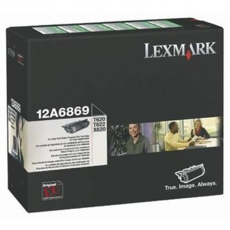 Lexmark 12A6869 fekete (black) eredeti toner