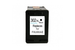 HP 302XL F6U68AE černá (black) kompatibilní cartridge