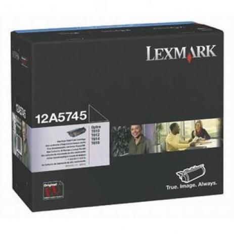 Lexmark 12A5745 fekete (black) eredeti toner