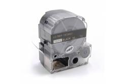 Epson LC-SC36KZ, 36mm x 8m, zlatý tisk / černý podklad, kompatibilní páska