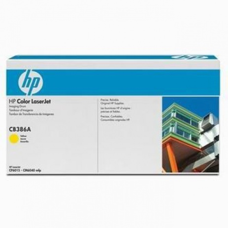 HP CB386A sárga (yellow) eredeti fotohenger