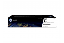 HP 117A W2070A černý (black) originální toner