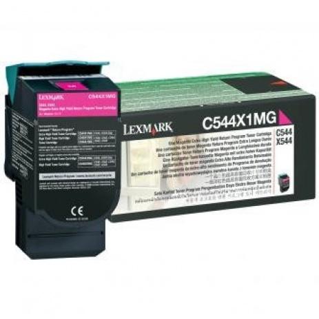 Lexmark C544X1MG bíborvörös (magenta) eredeti toner