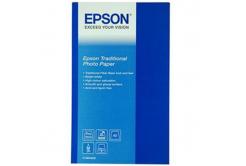 Epson Traditional Photo Paper, foto papír, saténový, bílý, A2, 330 g/m2, 25 ks, C13S045052, in