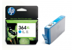 HP 364XL CB323EE azurová (cyan) originální cartridge
