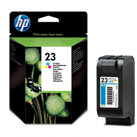 HP 23 C1823D kolorowa tusz oryginalna