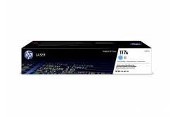 HP 117A W2071A azurový (cyan) originální toner