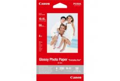"""Canon Glossy Photo Paper, foto papír, lesklý, GP-501, bílý, 10x15cm, 4x6"""", 200 g/m2, 50 ks, 0775B081, inkoustový"""