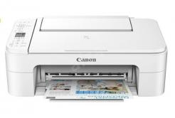 Canon PIXMA Tiskárna TS3351 white - barevná, MF (tisk, kopírka, sken, cloud), USB, Wi-Fi