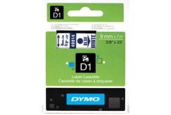 Dymo D1 40914, S0720700, 9mm x 7m, modrý tisk / bílý podklad, originální páska