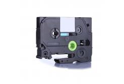 Kompatibilní páska s Brother TZ-S711 / TZe-S711, 6mm x 8m, extr.adh. černý tisk / zelený p
