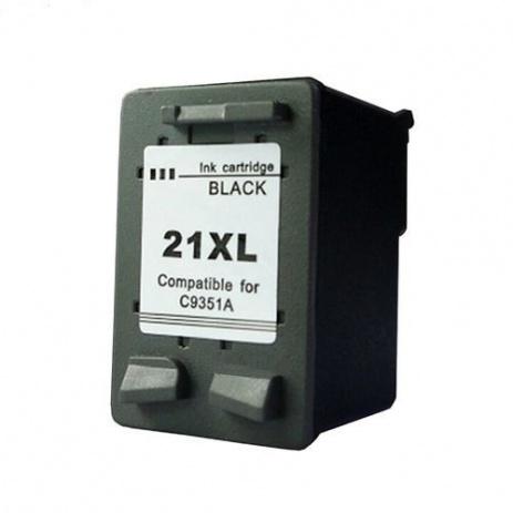 HP 21XL C9351A fekete (black) utángyártott tintapatron