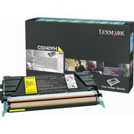 Lexmark C5240YH yellow original toner
