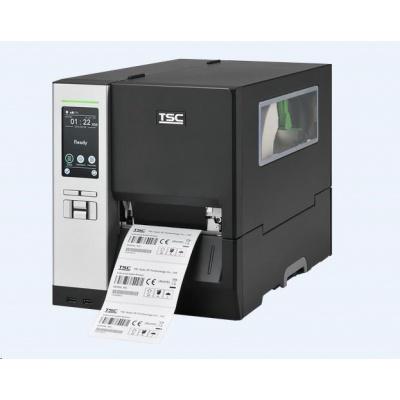 TSC MH340T 99-060A059-01LF drukarka etykiet, 12 dots/mm (300 dpi), display, TSPL-EZ, USB, RS232, BT, Ethernet