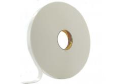 3M 9529W Montážní pěnová oboustranná páska, bílá, 25 mm x 3 m
