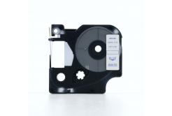 Kompatibilní páska s Dymo 45804, 19mm x 7m, modrý tisk / bílý podklad
