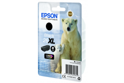 Epson originální ink C13T26214022, T262140, 26XL, black, 12, 2ml, Epson Expression Premium XP-800, XP-700, XP-600