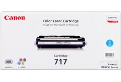 Canon CRG-717 2577B002 azurový (cyan) originální toner