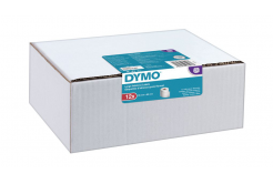 Dymo 99012, 2093093, 36mm x 89mm, papírové originální štítky, 12ks