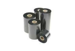 Honeywell Intermec I90487-0  thermal transfer ribbon, TMX 2010 / HP06 wax/resin, 55mm, 25 rolls/box, black