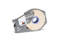 Partex PROMARK-PL060CN9, bílá samolepicí páska, 6mm, 30m