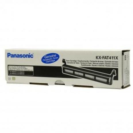 Panasonic KX-FAT411E black original toner