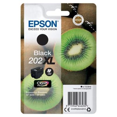 Epson 202 XL T02G14010 černá (black) originální cartridge, výprodej
