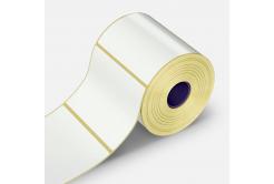 Samolepicí etikety 100x74 mm, 500 ks, papírové pro TTR, role