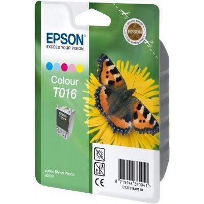 Epson T016401 barevná originální cartridge