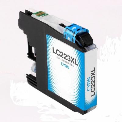 Brother LC-223XL azurová (cyan) kompatibilní cartridge