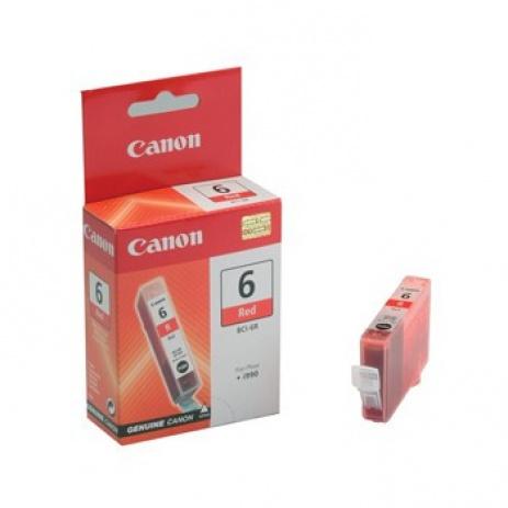Canon BCI-6R czerwona (red) tusz oryginalna