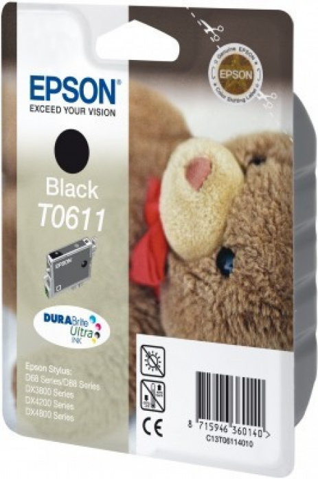 Epson C13T06114010 negru (black) cartus original