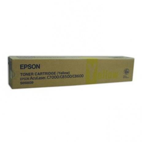 Epson C13S050039 sárga (yellow) eredeti toner
