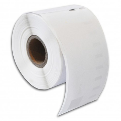 Kompatibilní etikety s Dymo 99015, 54mm x 70mm, bílé, role