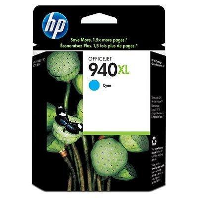 HP C4907AE č.940XL azurová (cyan) originální cartridge, prošlá expirace