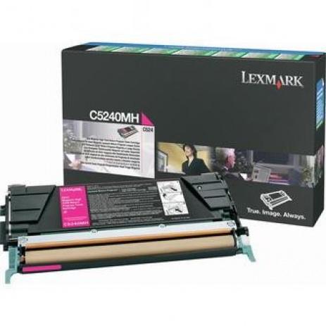 Lexmark C5240MH magenta original toner