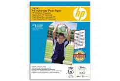 """HP Advanced Glossy Photo Paper, foto papír, lesklý, zdokonalený, bílý, 13x18cm, 5x7"""", 250"""