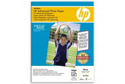 "HP Q8696A Advanced Glossy Photo Paper, foto papír, lesklý, zdokonalený, bílý, 13x18cm, 5x7"", 250"