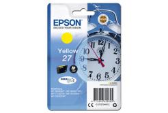 Epson originální ink C13T27044012, 27, yellow, 3, 6ml, Epson WF-3620, 3640, 7110, 7610, 7620